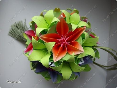 Сделаем цветы и основу к ним. Автор основы Томоко Фусе фото 3