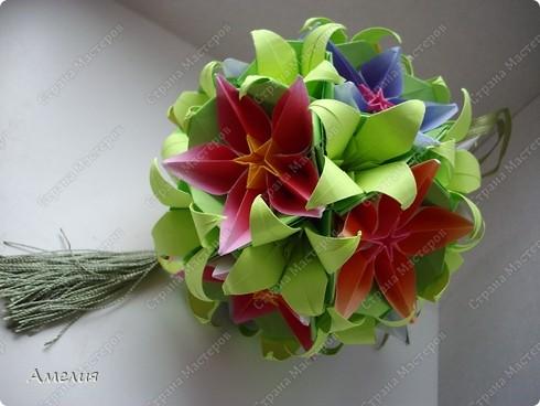 Сделаем цветы и основу к ним. Автор основы Томоко Фусе фото 90