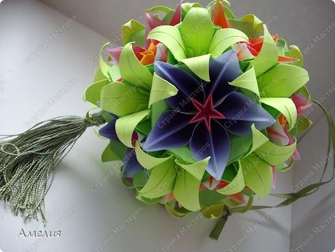 Сделаем цветы и основу к ним. Автор основы Томоко Фусе фото 2