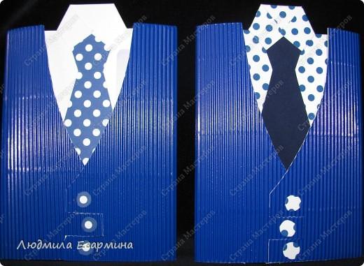 Много таких мужских открыток появилось в Стране Мастеров благодаря Татьяне Просняковой http://stranamasterov.ru/technics/business_postcard.html. Я решила поэкспериментировать с материалом. Тем более, что срочно понадобились две открытки для молодых людей. фото 1