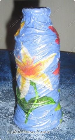 Маленькие баночки от капельниц, превратились в маленькие вазочки. фото 4