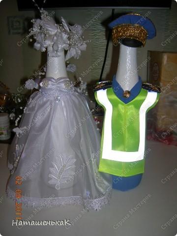 Свадебное шампанское для племянника. фото 1