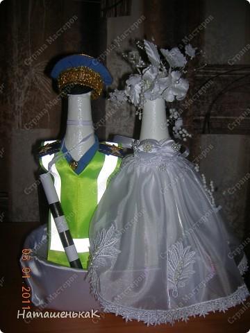 Свадебное шампанское для племянника. фото 3