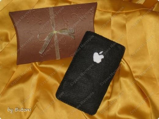 Мода на iPhone докатилась и до рукоделия! Вот какой чехол для телефона у меня получился!  фото 2