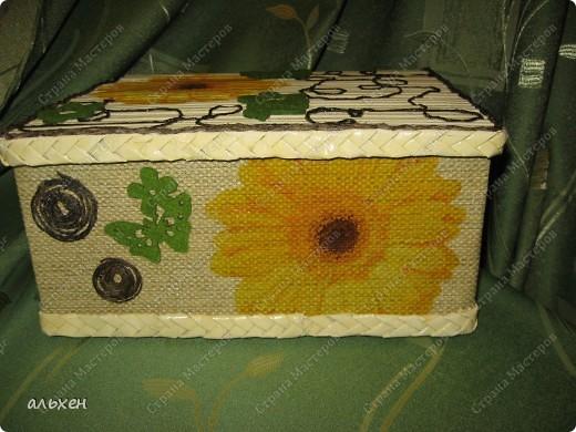 Коробочка нужна была стационарная.... что бы в неё поставить пузырьки с клеем, красками.... и т.д..... фото 4