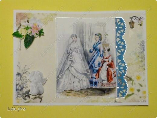 Захотелось немножко старины...   Все открытки серии разобраны фото 6