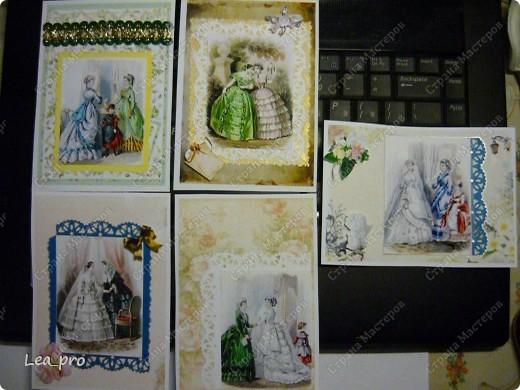 Захотелось немножко старины...   Все открытки серии разобраны фото 1