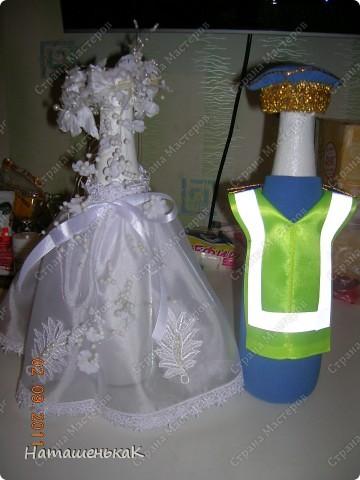 Свадебное шампанское для племянника. фото 2