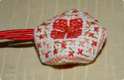 А вот и она...малютка бискорнюшка с сердечным мотивом... фото 3