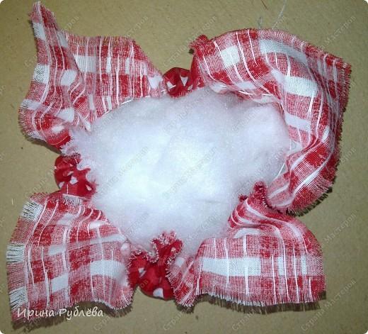 Кукла кувадка делается просто. Тело я, обычно, делаю из х/б ткани белого или, похожего на телесный, цвета. Руки из ткани как и юбка. Мне так больше нравится. Нитки использую х/б, прочные. Посколку куколку резать и колоть иголкой нельзя, то все детали от основной ткани мы отрываем и связываем нитками на 2-3-узла. фото 15