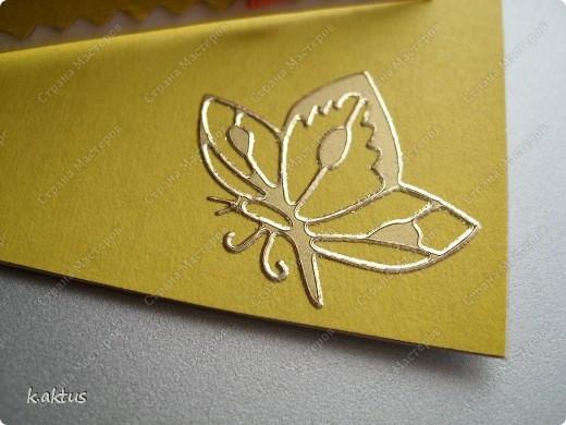 Очарована открыточками Оли   http://stranamasterov.ru/node/175370    - стоечки, пюпитр. Да и цветочки надо пристраивать. Вот получилась такая открытка. фото 4