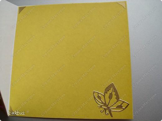 Очарована открыточками Оли   http://stranamasterov.ru/node/175370    - стоечки, пюпитр. Да и цветочки надо пристраивать. Вот получилась такая открытка. фото 3