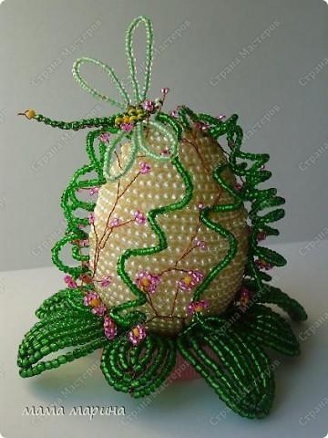 моё новое яйцо , идея с сайта бисер инфо фото 2