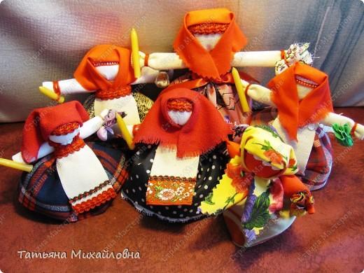 Вот мои православные куколки готовы встречать Пасху.  фото 1