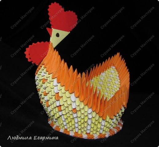 Видела несколько курочек в Стране Мастеров, но ни одного мастер-класса так никто и не выложил. Предлагаю изготовить простейшую курочку-корзинку для крашеных яичек. фото 20