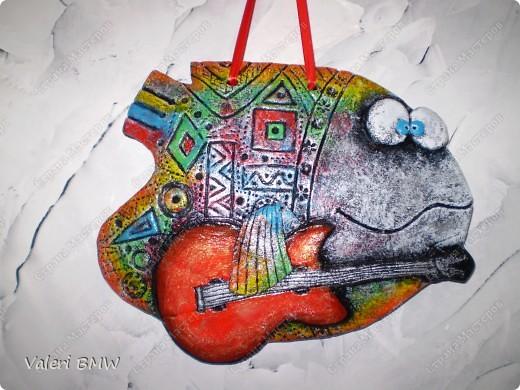 Рыбка - гитарист)))) фото 1
