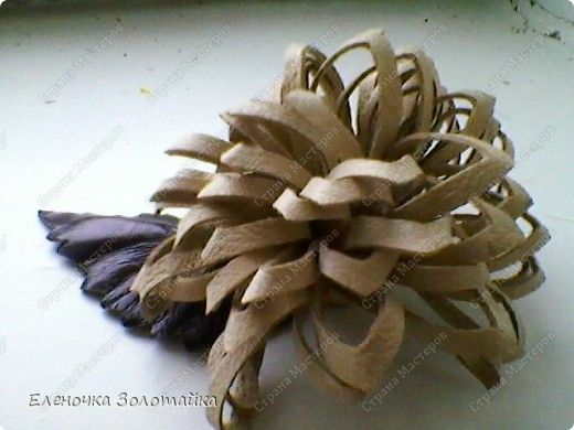 Цветы из кожи фото 4