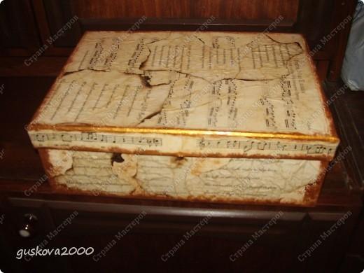 Коробка для поздравительных открыток и писем, которые я получаю. фото 1