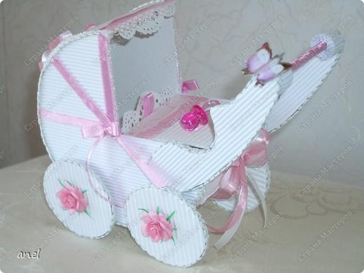 Коляска-шкатулка для малютки. фото 1