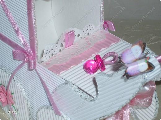 Коляска-шкатулка для малютки. фото 2