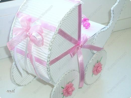 Коляска-шкатулка для малютки. фото 3
