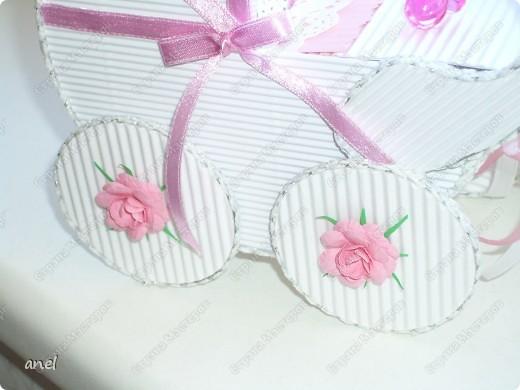 Коляска-шкатулка для малютки. фото 4