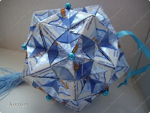 Кусудама Star fractal фото 3