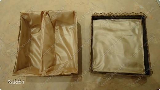 вот такую коробочку смастерила для упаковки подарка по МК Анюта001, http://stranamasterov.ru/node/85978?c=favorite ,за что спасибо огромное! коробку взяла готовую из-под детской обувки. фото 3