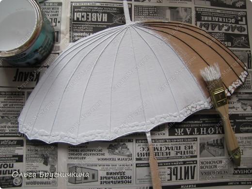 Сестре понадобилась ключница.Я,как обычно,люблю чтобы форма у ключницы была необычной.Например- зонт. фото 9