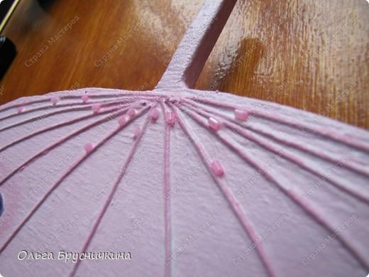 Сестре понадобилась ключница.Я,как обычно,люблю чтобы форма у ключницы была необычной.Например- зонт. фото 18