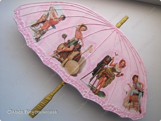 Сестре понадобилась ключница.Я,как обычно,люблю чтобы форма у ключницы была необычной.Например- зонт. фото 19