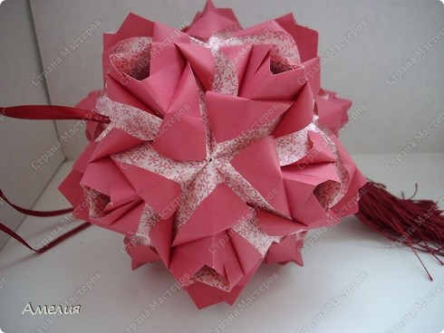 Кусудама Little Roses  фото 2