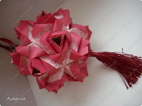 Кусудама Little Roses  фото 3