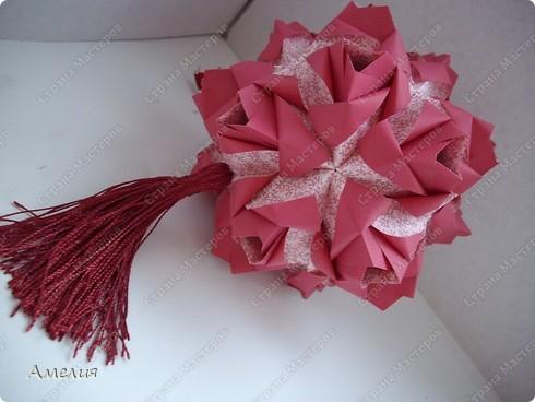 Кусудама Little Roses  фото 4