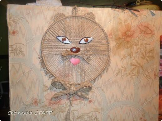 панно-котик фото 1