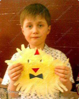 У Саши цыплёнок в галстуке фото 3