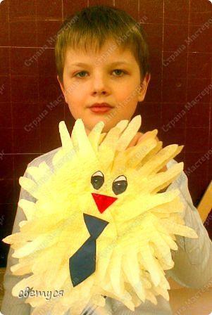 У Саши цыплёнок в галстуке фото 1
