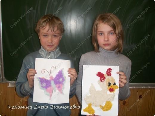 Эта работа девочки была на выставке.  фото 2