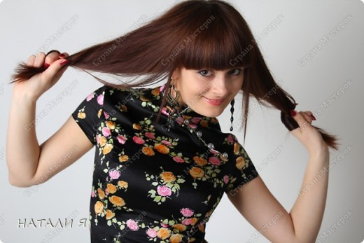 Платье сшито из стрейч-атласса. Моя работа фото 3