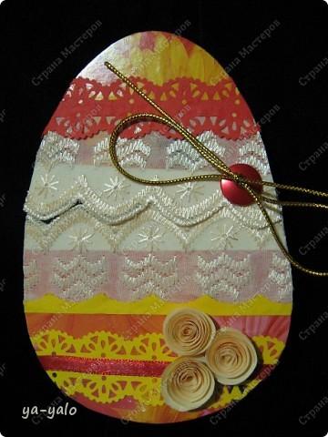 Из яиц вылупляются не только цыплята))))) Идея пришла из детской игрушки-яйца, которое, полежав в воде, трескается, и все ждут, кто же из него покажется... (цыпленок?.... нет... змея?..... нет?  ооооо! крокодил) Вот и мне захотелось, чтобы вы затаили дыхание... и улыбнулись, глядя на того, кто вылупися из яйца  Итак,  кто же вылупится из этого очень странного яйца? фото 13