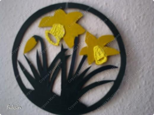 это украшение на окно или дверь,поделка с детьми из бросового материала фото 1