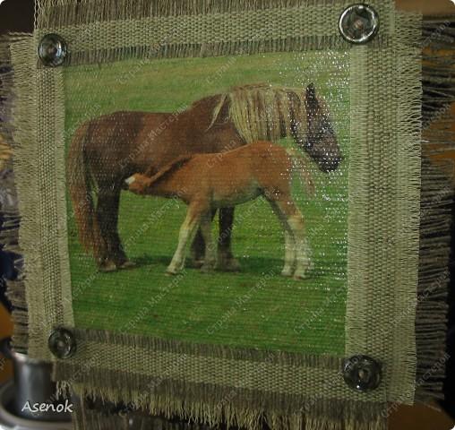 Мой папа любит лошадей и скоро у него день рождения... ну и в подарок ему родились вот такие лошадки.  Фото без вспышки. фото 3
