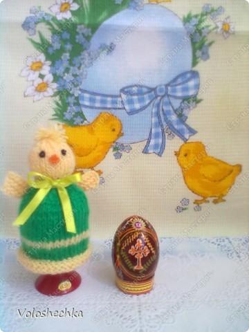 Зайка  и цыпленок для пасхальных яиц фото 2