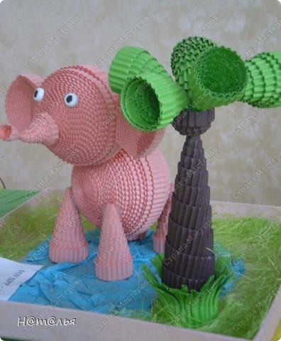 Эту поделку мы с дочкой делали еще зимой. Вот этот слоник - http://stranamasterov.ru/node/107104?c=favorite - понравился очень многим, и конечно же мы тоже не могли устоять перед ним))) фото 2