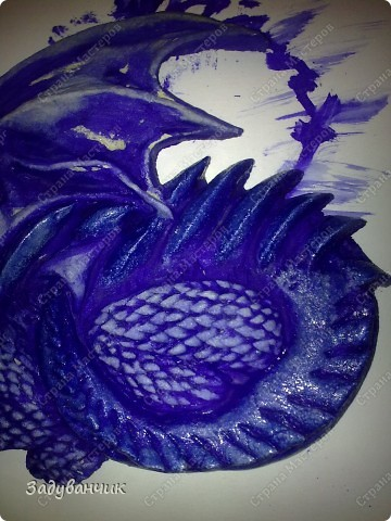 Часть вторая. Расписываем дракона. фото 10