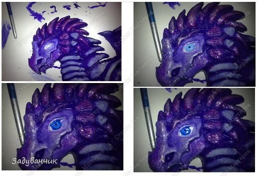 Часть вторая. Расписываем дракона. фото 8