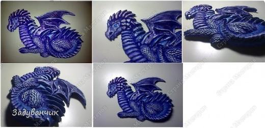 Часть вторая. Расписываем дракона. фото 19