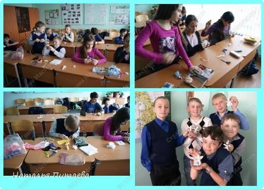 И снова с ребятами делали подарки к празднику, на этот раз творили «Пасхального Кролика».  фото 2