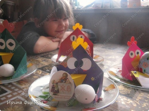 Украшаем праздничный стол к Пасхе. фото 1