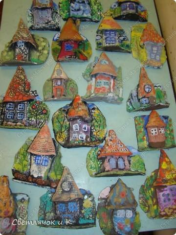 Вот такие получились домики! Помните?  http://stranamasterov.ru/node/180060 фото 1